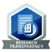 "Logo des ""Commitment to Research Transparency and Open Science"""